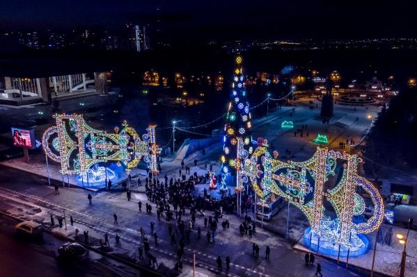 Где праздновать Новый год 2021 в Уфе?